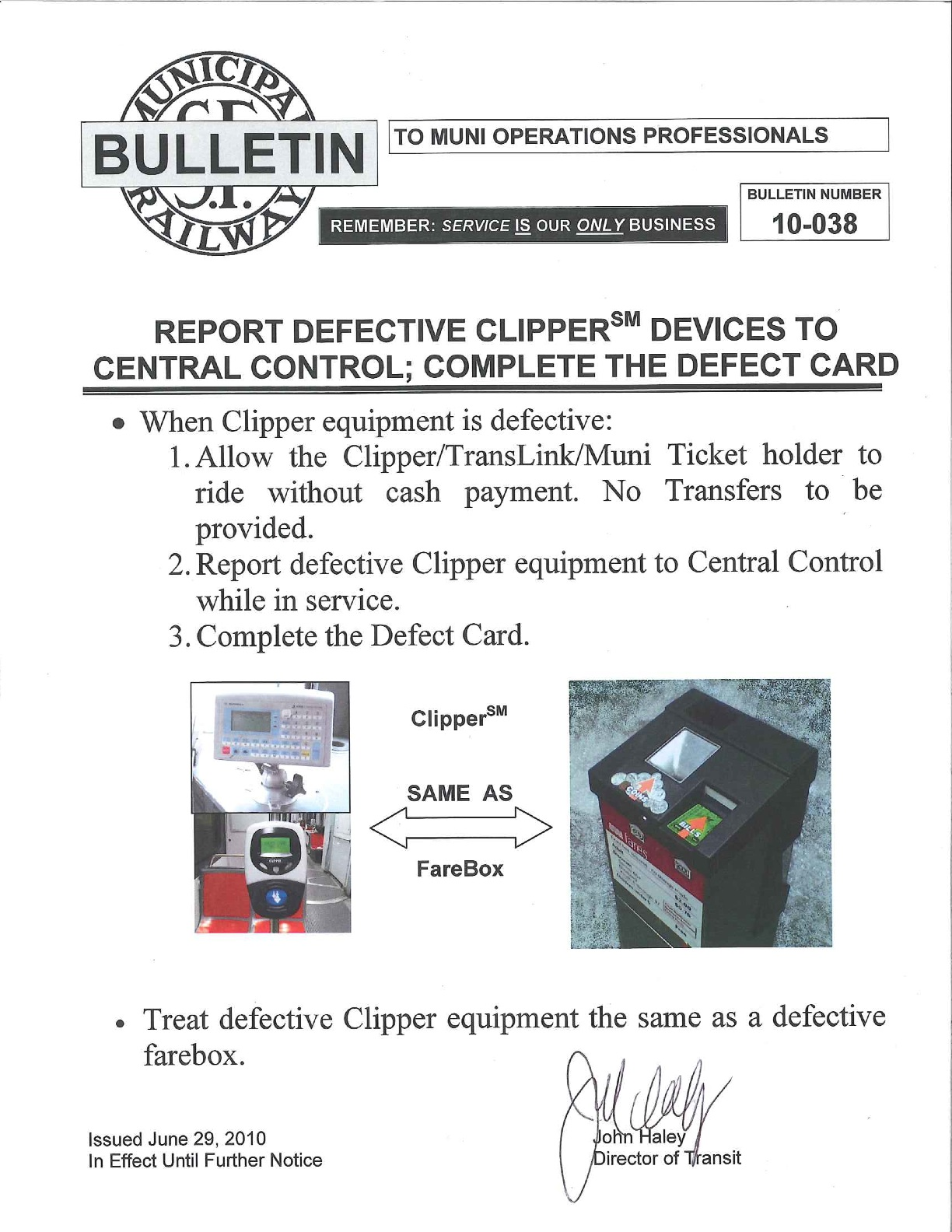 the Clipper Card Reader Is
