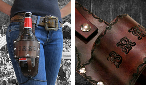 Leather Beer Holster Get a Beer Holster Muni