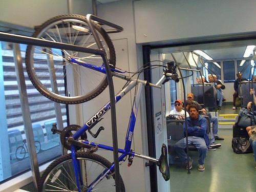Photo Diary Bikes On Light Rail