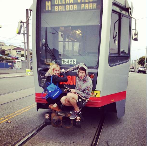 N Owl Muni San Francisco Young Muni Joy Riders