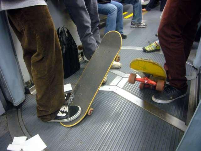 Muni skateboard
