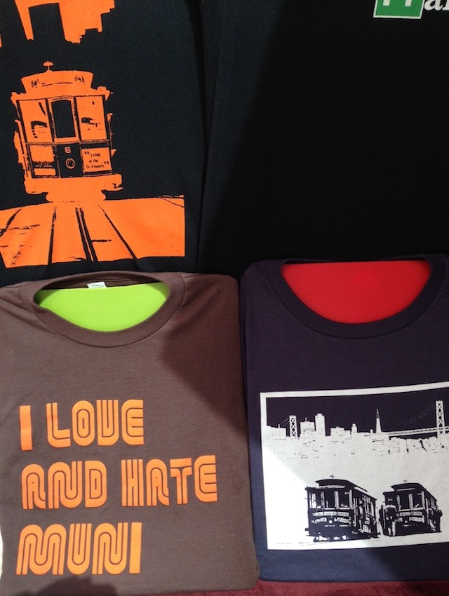 love hate muni shirt