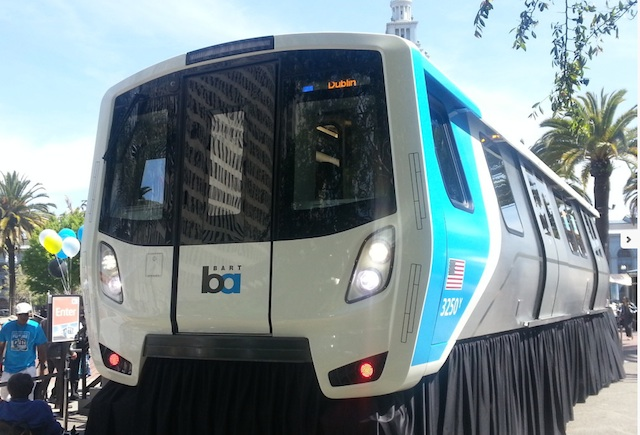 new bart train design