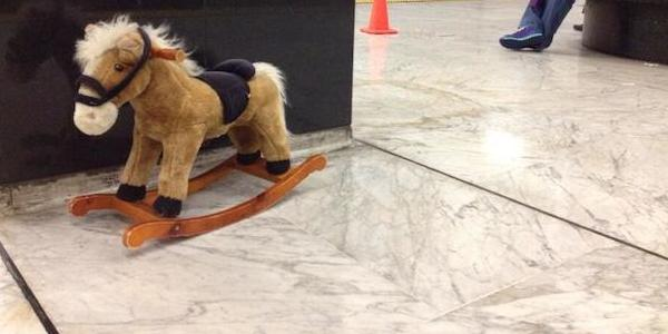 Muni alternatives: Rocking horse