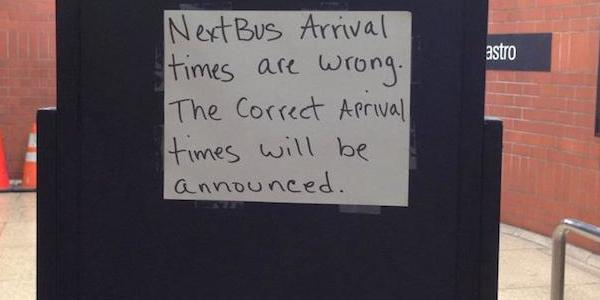 The truth about NextBus is finally revealed