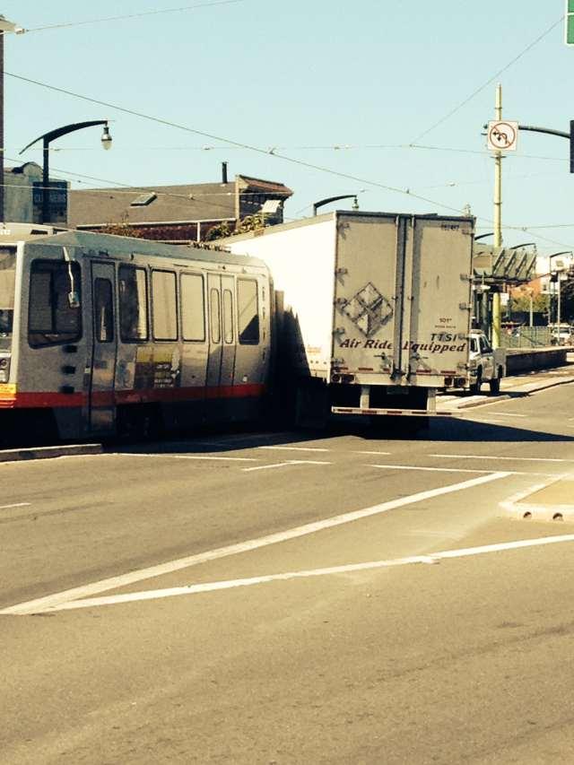 t-train collision