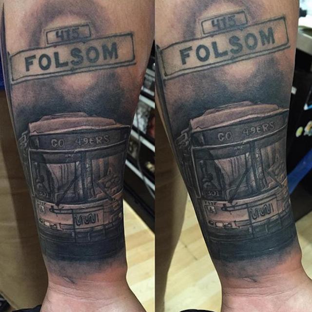 folsom muni tattoo