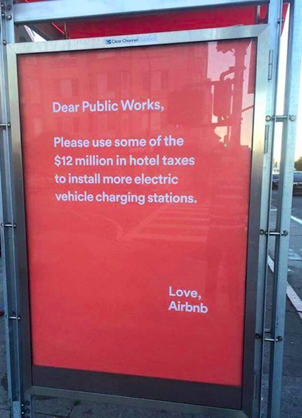 air bnb public works bus ad