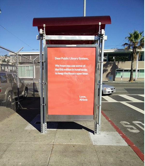airbnb library muni ad
