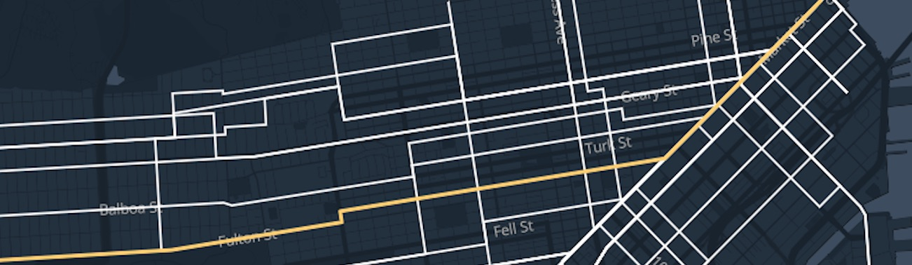 interactive street car map feat