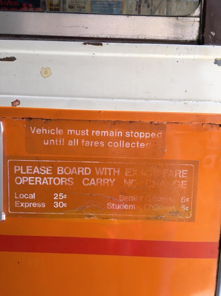 san francisco remembered old muni fare sign