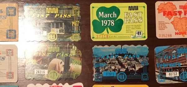 vintage fast passes grandparents gift muni diaries feat
