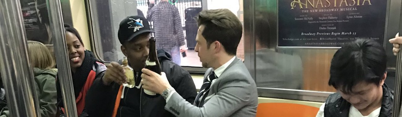 collenehagerty nyc subway wine feat