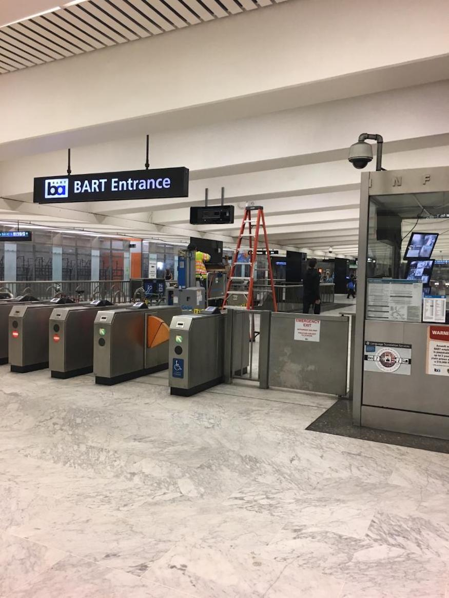 BART real time from Erich