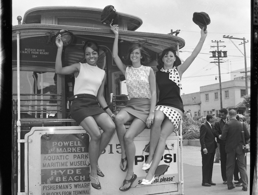 cable car women sfmta photo archive